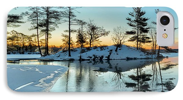 Crisp And Cold Start To The Day IPhone Case