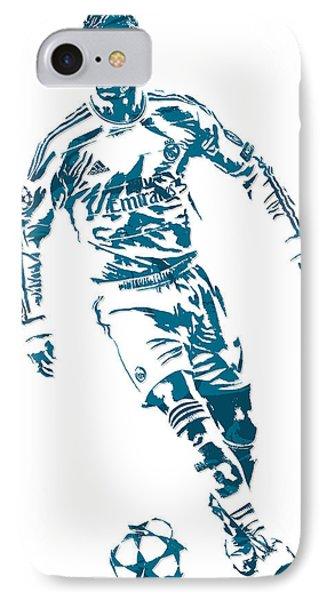 Cristiano Ronaldo Real Madrid Pixel Art 1 IPhone Case