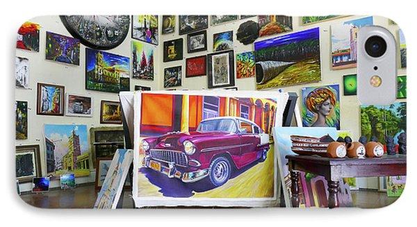 Cuba One Artists Studio IPhone Case