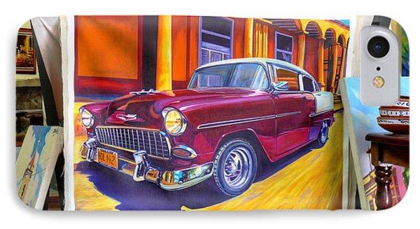 Cuban Art Cars IPhone Case
