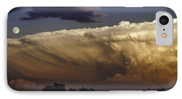 Cumulonimbus At Sunset IPhone Case