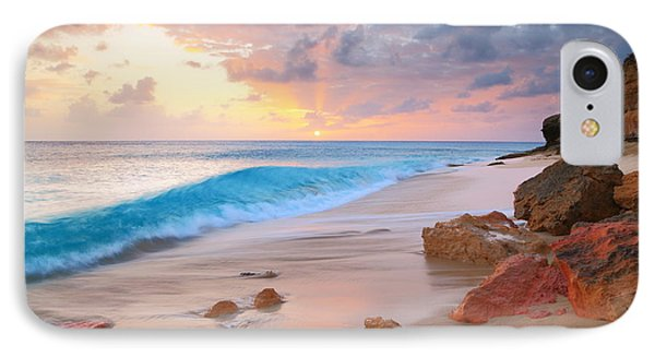 Cupecoy Beach Sunset Saint Maarten IPhone Case