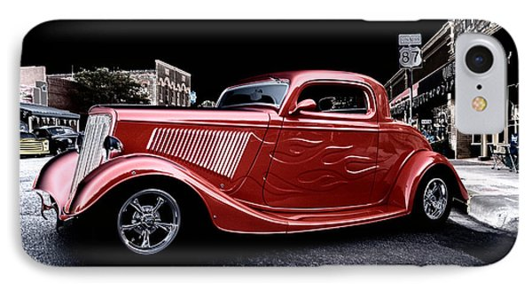 Custom Car On Street IPhone Case