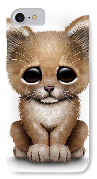 Cute Baby Lion Cub IPhone Case