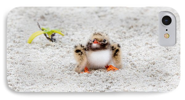 Cute Chick At Beach IPhone Case