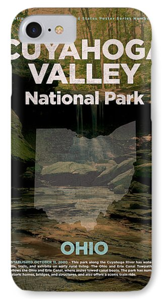 Cuyahoga Valley National Park In Ohio Travel Poster Series Of National Parks Number 18 IPhone Case