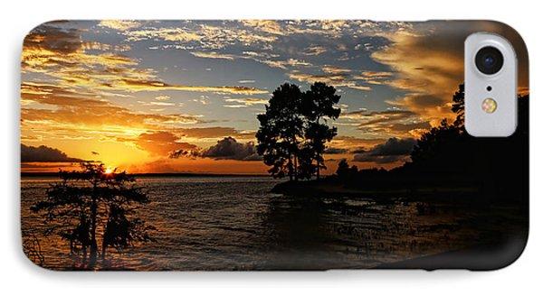 Cypress Bend Resort Sunset IPhone Case