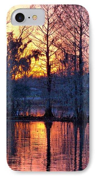 Cypress Sunrise IPhone Case