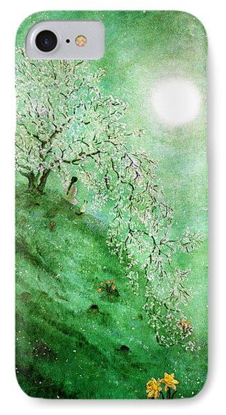 Daffodil Dream Meditation IPhone Case