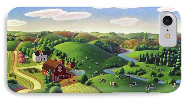 Dairy Farm  IPhone Case