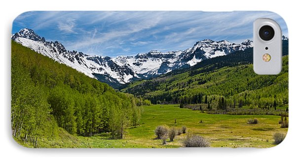 Dallas Creek Valley And The Sneffels Range IPhone Case