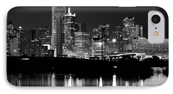 Dallas Nights Bw 6816 IPhone Case
