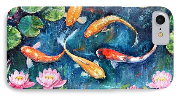 Dance Of The Koi IPhone Case
