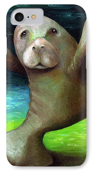 Dance Of The Manatee IPhone Case