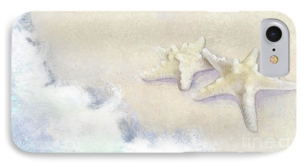 IPhone Case featuring the painting Dance Of The Sea - Knobby Starfish Impressionstic by Audrey Jeanne Roberts