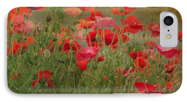Dance Through The Poppies IPhone Case