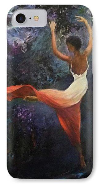 Dancer A IPhone Case