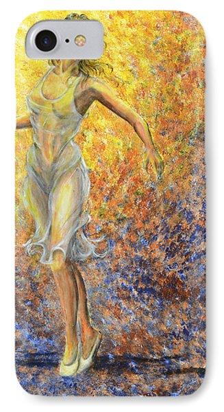 Dancer Away IPhone Case