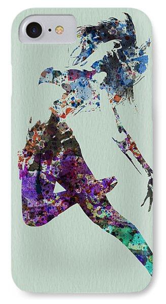Dancer Watercolor IPhone Case