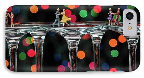 Dancers On Wine Glasses IPhone Case