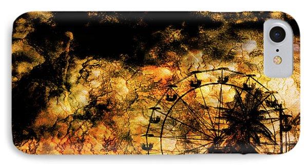 Dark Ferris Wheel IPhone Case