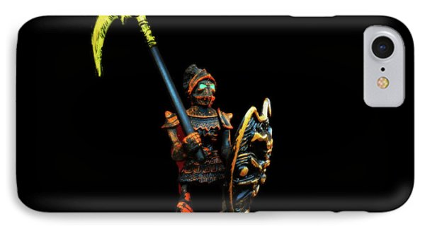 IPhone Case featuring the photograph Dark Guard by Mark Blauhoefer