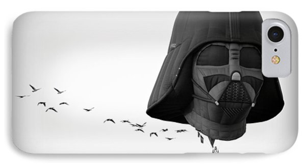 IPhone Case featuring the photograph Darth And His Flock by AJ Schibig
