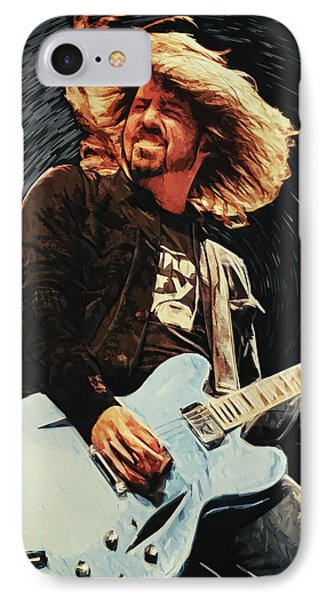 Dave Grohl IPhone Case