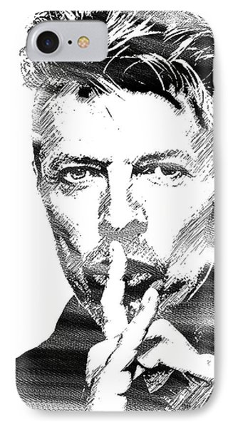 David Bowie Bw IPhone Case