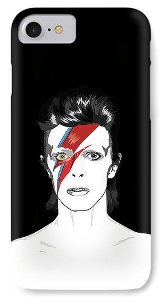 Tribute iPhone 8 Case - David Bowie Tribute by BONB Creative