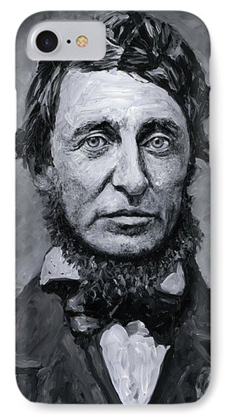 David Henry Thoreau IPhone Case
