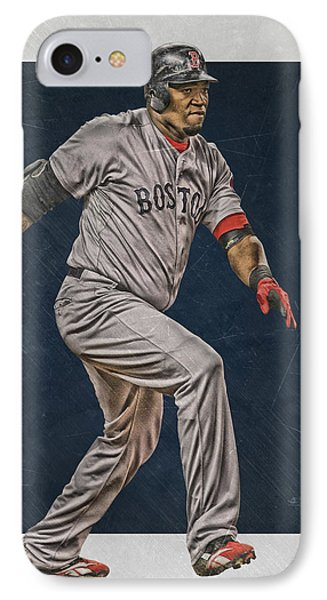David Ortiz Boston Red Sox Art 2 IPhone Case