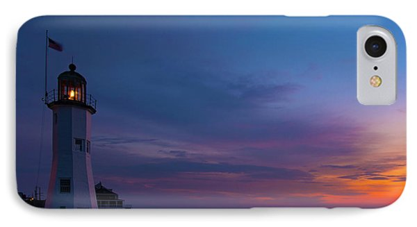 Dawn At Scituate Light IPhone Case
