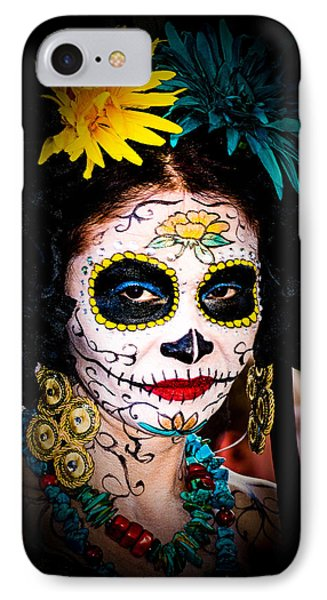 Day Of The Dead Eyes IPhone Case