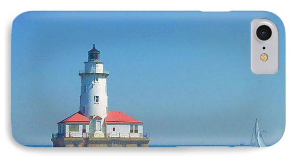 Day On The Lake IPhone Case