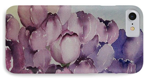 Days Of Wine And Tulips IPhone Case