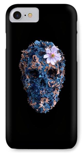 Skull 9 T-shirt IPhone Case