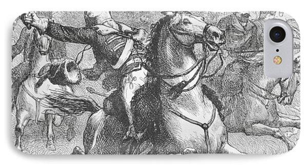Death Of Count Casimir Pulaski IPhone Case