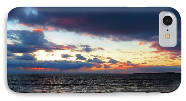 December Sunset, Wolfe Island, Ca. View From Tibbetts Point Lighthouse IPhone Case
