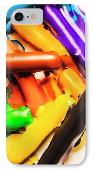 Deconstructing The Colour Wheel IPhone Case
