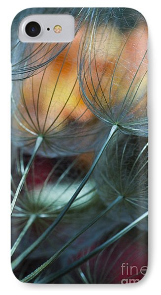 Deep Blue Dandelions IPhone Case