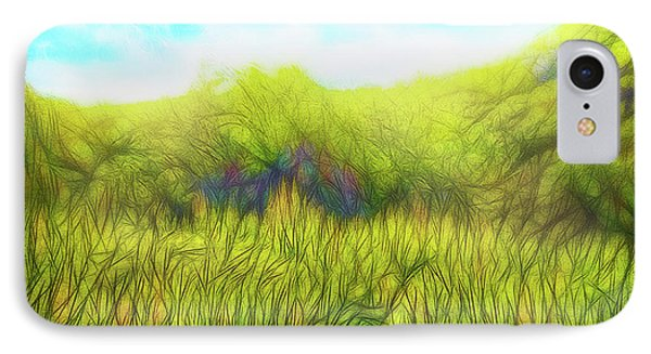 Deep Meadow Tranquility IPhone Case