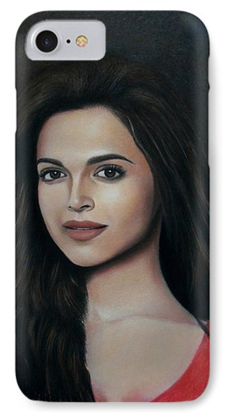 Deepika Padukone - The Enigmatic Expression IPhone Case