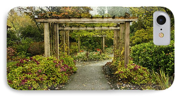 Fall In The Garden At Deer Lake IPhone Case