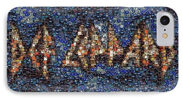 Def Leppard Albums Mosaic IPhone Case