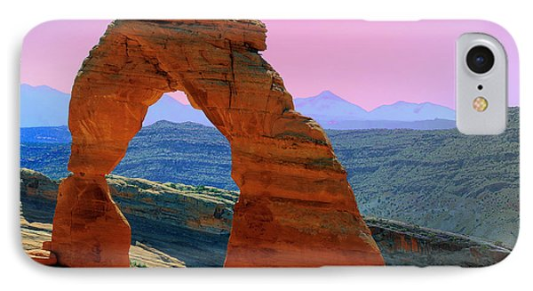 Delicate Arch  --  Arches National Park IPhone Case