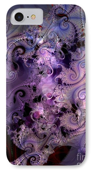 Delicate Lavender Forms IPhone Case