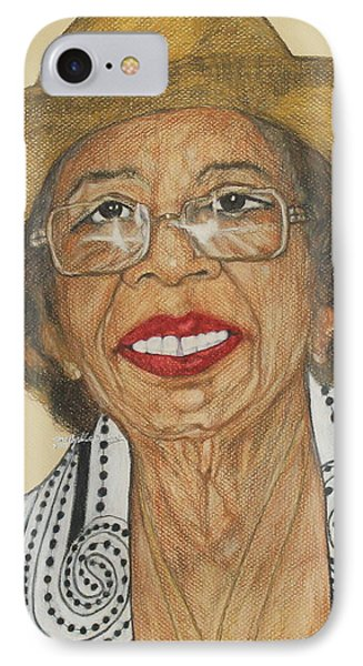 Della Willis Portrait IPhone Case