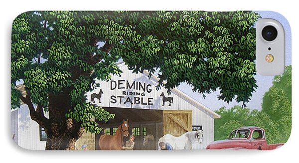 Deming Stables IPhone Case