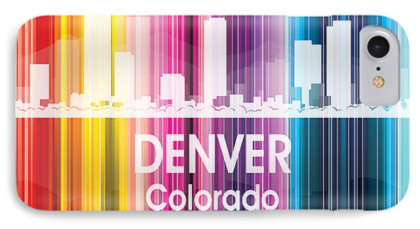 Denver Co 2 Squared IPhone Case